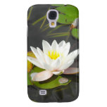 Water Lily with foliage and coin Samsung Galaxy S4 Case
