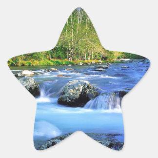 Water Little Pigeon River Star Sticker