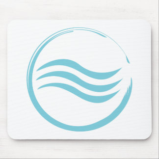 Water Logo Mouse Pad