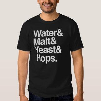 Water & Malt & Yeast & Hops Shirt