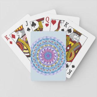 Water Mandala Playing Cards