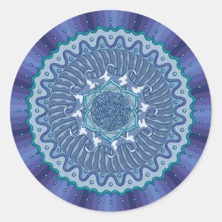 Water Mandala Sticker