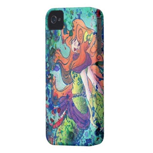 Water Mermaid Blackberry Case iPhone 4 Cover