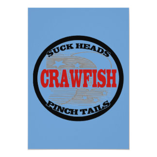Water Meter Cover Crawfish 13 Cm X 18 Cm Invitation Card