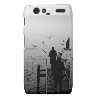 Water Moment Of Silence Droid RAZR Cover