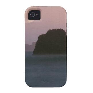 Water Moonset Rockaway Beach California iPhone 4/4S Covers