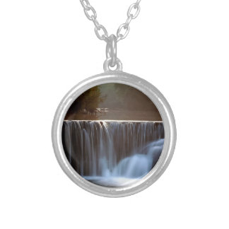 Water Natural Dam Ozark Forest Necklace