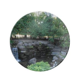 Water Oasis Plate