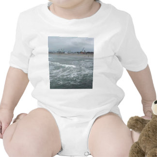 Water Ocean Beach Baby Bodysuit