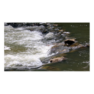 Water of the Guadiaro river between jumping betwee Pack Of Standard Business Cards