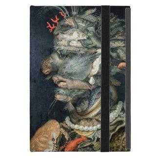 Water, (oil on canvas), Arcimboldo, Giuseppe Case For iPad Mini