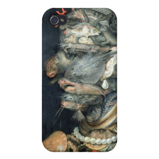 Water, (oil on canvas), Arcimboldo, Giuseppe Cover For iPhone 4