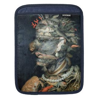 Water, (oil on canvas), Arcimboldo, Giuseppe iPad Sleeve