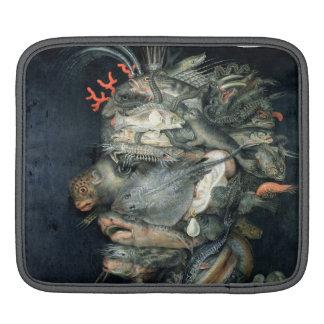 Water, (oil on canvas), Arcimboldo, Giuseppe iPad Sleeves