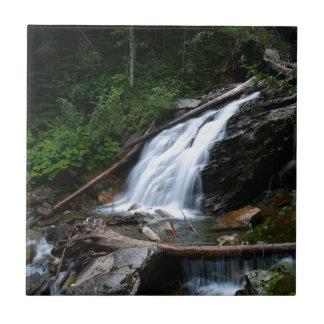 Water Old Mountain Falls Tile