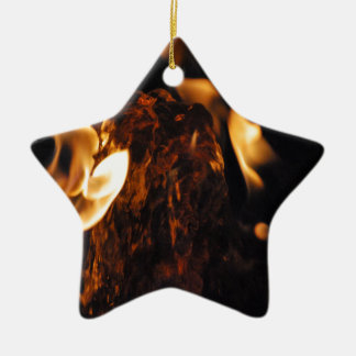 Water on Fire Christmas Ornament