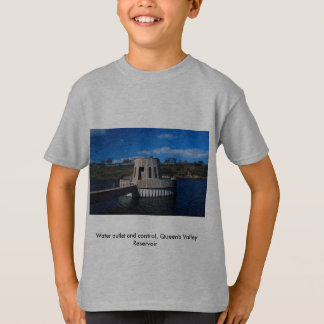 Water outlet and control, Queen's Valley Reservoir T-Shirt