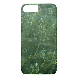 Water over Sea Grass II (Blue and Green) Photo iPhone 7 Plus Case