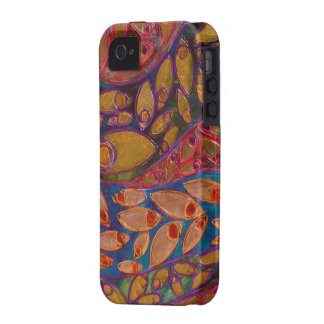 water peacocks painting - iPhone 4 Case-Mate Tough Vibe iPhone 4 Covers