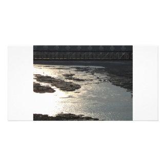 Water Custom Photo Card