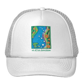 Water Pollution Mesh Hat