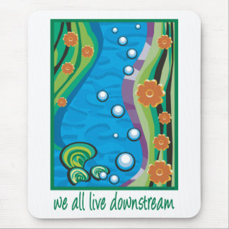 Water Pollution Mousepad