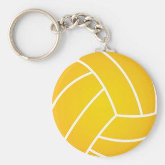 Water Polo Ball Key Chain