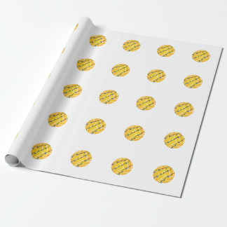 Water Polo Ball with lights Holiday Wrapping Paper