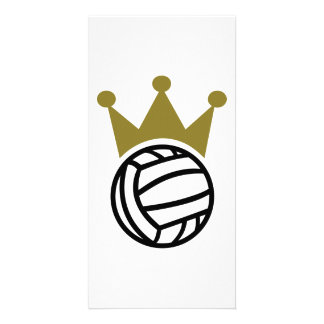 Water polo champion crown picture card