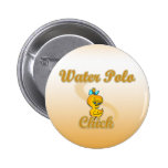 Water Polo Chick Buttons