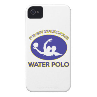 water polo design iPhone 4 case