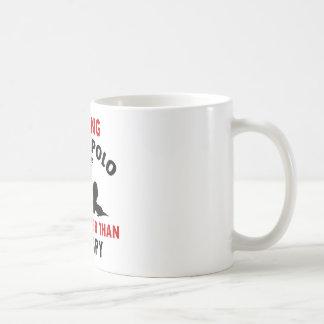 water polo design coffee mugs