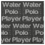 Water Polo Player Extraordinaire Fabric