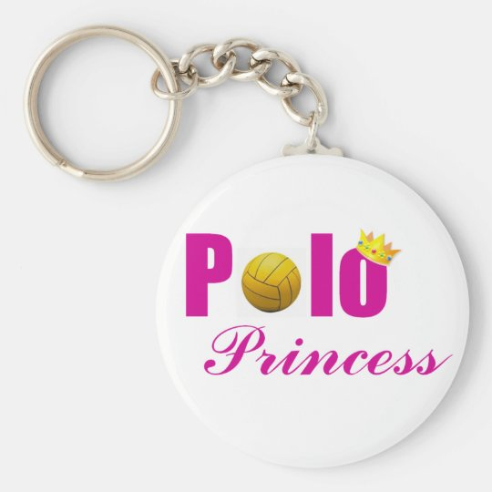 Water Polo Princess Key Chain