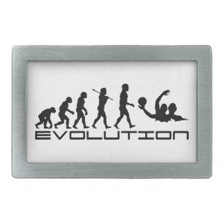 Water Polo Sport Evolution Art Belt Buckles