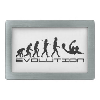 Water Polo Sport Evolution Art Rectangular Belt Buckle