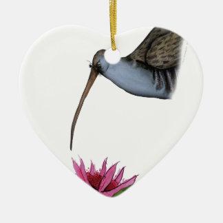 water rail, tony fernandes ceramic heart decoration