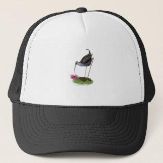 water rail wild bird trucker hat