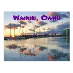 Water Reflections in Waikiki