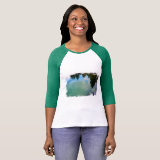 Water reflections with fish T-Shirt