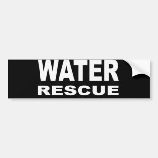 Water Rescue Bumper Sticker