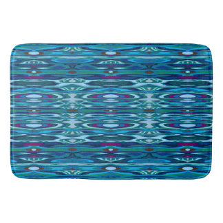 Water Ripple Reflections Large Bath Mat