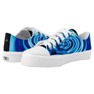 Water Ripples Abstract 101 Low Tops
