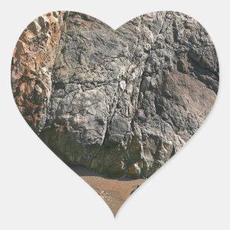 Water River Island Beach Fall Heart Sticker