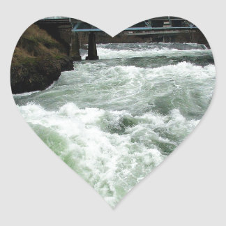 Water River Rapids Sticker