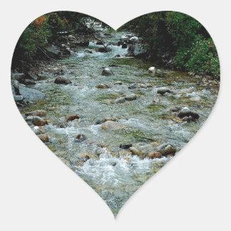 Water River Wild Outlook Sticker