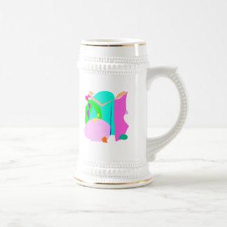 Water Root Beer Coffee Wine Ice Mugs