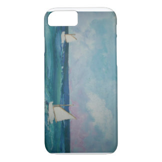 Water Scene with Boats iPhone 8/7 Case
