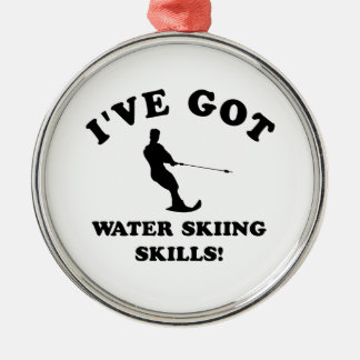 Water Skiing designs and gift items Christmas Ornament