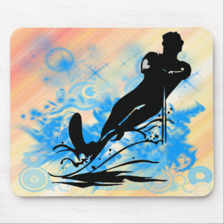 Water Skiing Mouse Mat